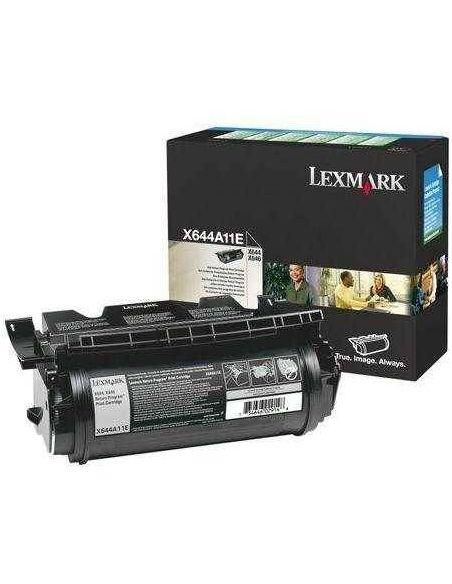 Tóner Lexmark X644A11E Negro (10000 Pag) para X642 X644