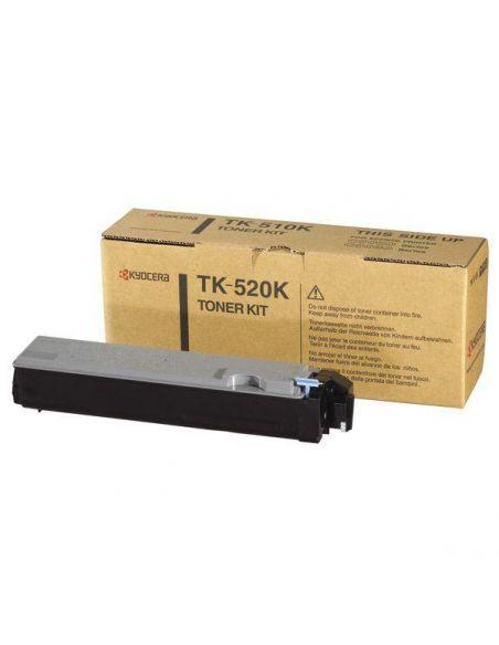 Tóner Kyocera TK-520K Negro (6000 Pag) para FS-C5015