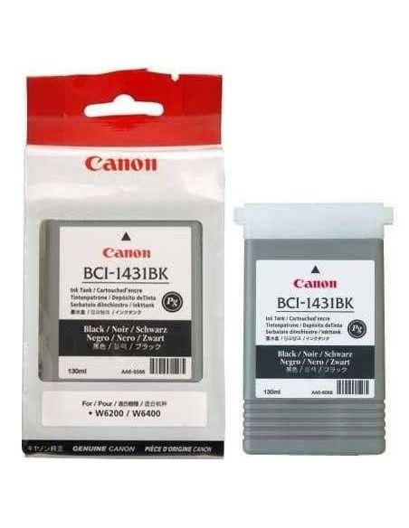 Tinta Canon BCI-1431BK Negro 8963A001 (130ml) PIGMENTADA