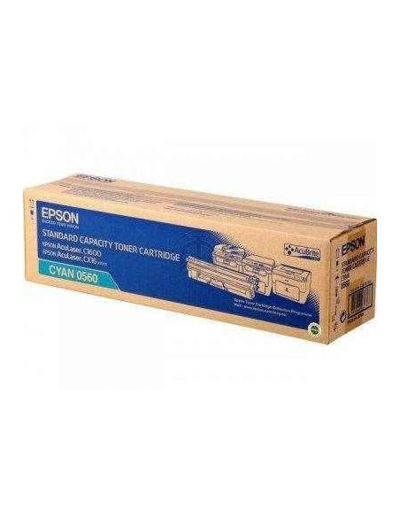 Tóner Epson 0560 Cian para AcuLaser C1600 CX16
