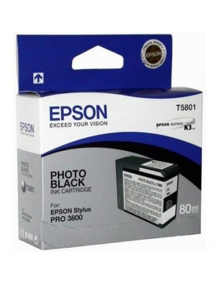 Tinta Epson T5801 Photo Negro (80ml)