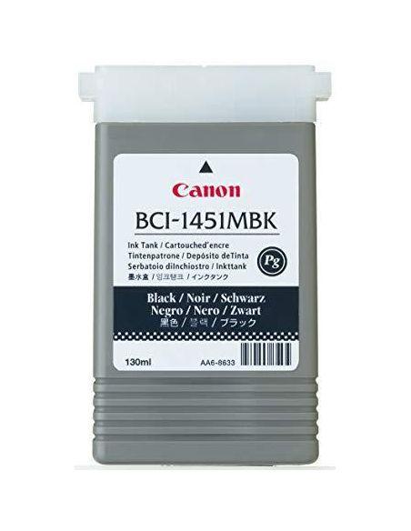 Tinta Canon BCI-1431MBK Negro Mate 0175B001AA (130ml) (Original)