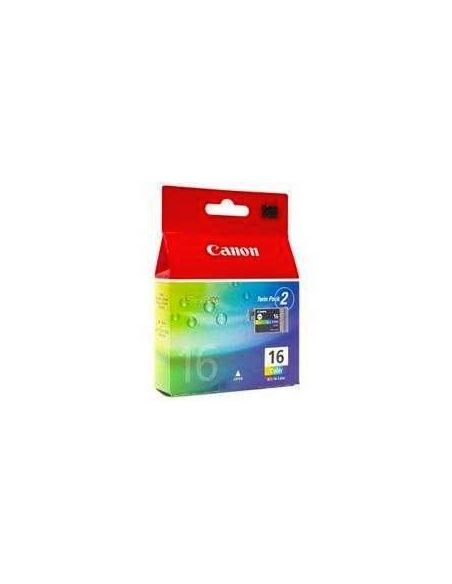 Tinta Pack Canon BCI-16CL color (2 unid)