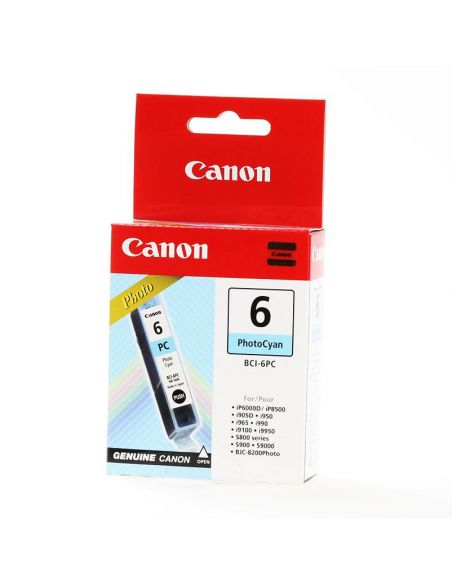 Tinta Canon BCI6PC Cian Photo (13ml) Original