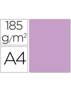 Cartulina guarro din a4 lila 185 gr paquete 50 h 200040164