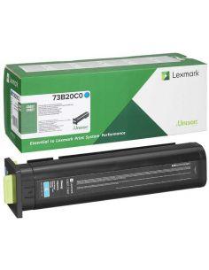 Tóner Lexmark 73B20C0 Cian (15000 Pag) para CS827 CX827