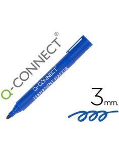 Rotulador permanente negro punta redonda 3.0mm KF26045