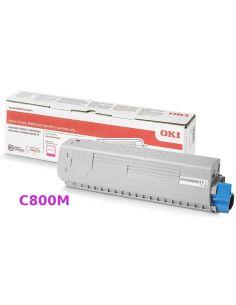 Tóner Oki 47095702 Magenta (5000 Pag) para C800