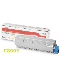 Tóner Oki 47095701 Amarillo (5000 Pag) para C800