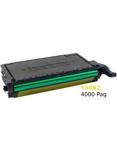 Tóner para Samsung Y5082 Amarillo SU532A No original para CLP620 CLP670