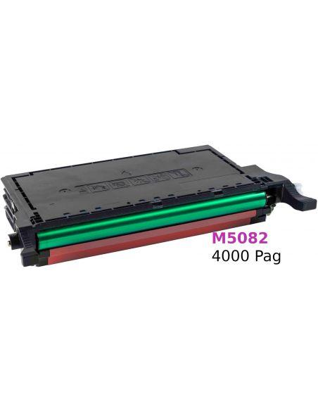 Tóner para Samsung M5082 MAGENTA (4000 Pag) No original para CLP620 y mas