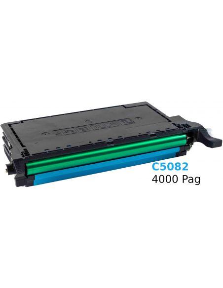 Tóner para Samsung C5082 CIAN (4000 Pag) No original CLP620 y mas