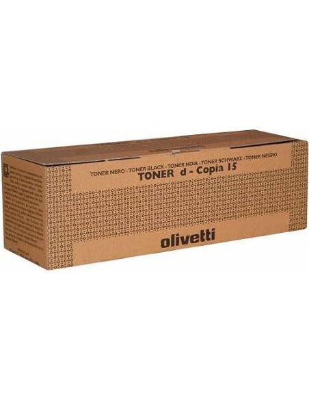 Tóner B0360 Olivetti Negro para D-Copia 15 20