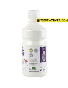 Témpera líquida BLANCA 500ml escolar TP02