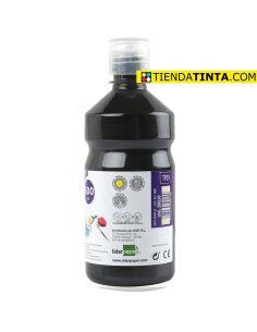 Témpera líquida NEGRO 500ml escolar TP19