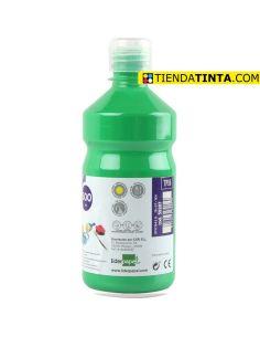 Témpera líquida VERDE 500ml escolar TP16