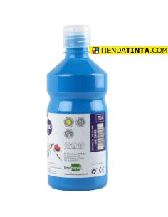 Témpera líquida AZUL 500ml escolar TP14