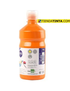 Témpera líquida NARANJA 500ml escolar TP05