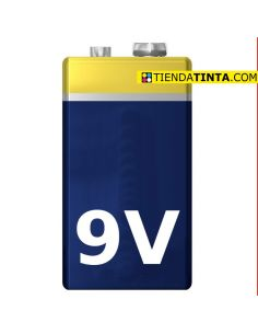 Pila Alcalina 9V 6LR61 (1...