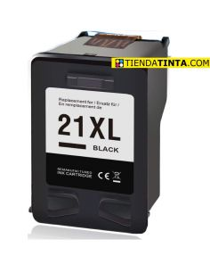 Tinta para HP 21XL Negro (475 Pág) No original