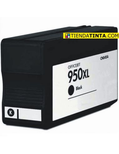 Tinta compatible HP 950XL Negro CN045AE (2300 Pág)(75ml)
