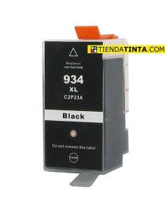 Tinta compatible HP 934XL Negro (1000 Pág)