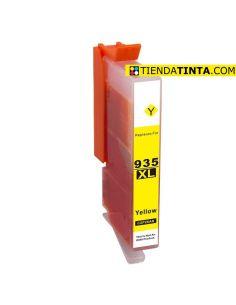 Tinta compatible HP 935XL AMARILLO (825 Pág)