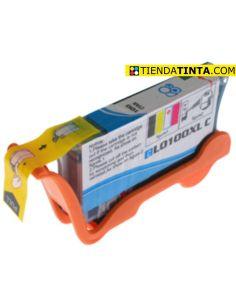 Tinta compatible Lexmark 100XL CIAN 14N1069E (600 Pág)