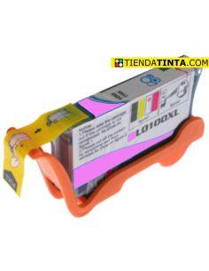 Tinta compatible Lexmark 100XL MAGENTA (600 Pág)