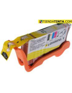 Tinta compatible Lexmark 100XL AMARILLO (600 Pág)
