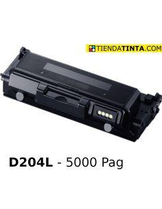 Tóner compatible Samsung D204L Negro (5000 Pag) para M3325 y mas