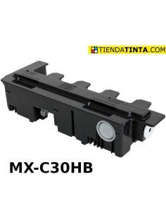 Contenedor residual para Sharp MXC30HB