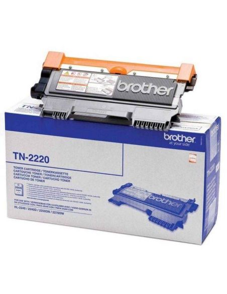 Tóner Brother TN-2220 Negro (2600 Pag) para DCP-7055 HL-2130