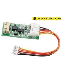 Chip para unidad de revelado con cable DV311C,M,Y para Develop Konica Minolta y Olivetti