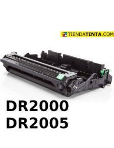 Tambor compatible Brother DR2000/DR-2005 (12000 Pág) No original