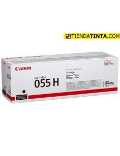 Tóner Canon 055H Negro (7600 Pag) para LBP662 y mas