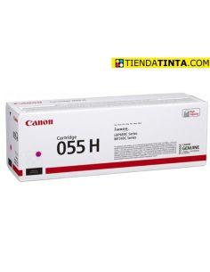 Tóner Canon 055H Magenta (5900 Pag) para LBP662 y mas
