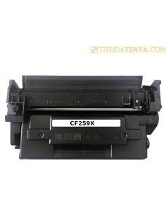 Tóner compatible HP 59X NEGRO (10000 Pag) sin chip para M404 y mas