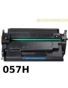Tóner compatible Canon 057H NEGRO (10000 Pag) sin chip para LBP223 y mas