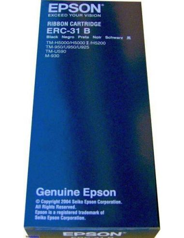 Cinta Epson S015369 ERC-31B Negro