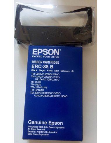 Cinta Epson C43S015374 NEGRO ERC-38B Original
