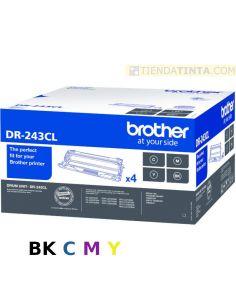 Tambor Brother DR243CL (BKCMY)(4x18000 Pág)