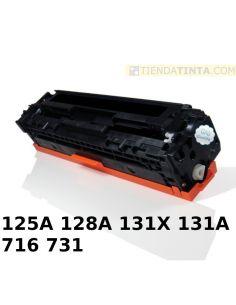 Tóner compatible HP 125A/716BK/731BK Negro (2200 Pag) para CM1013 y mas