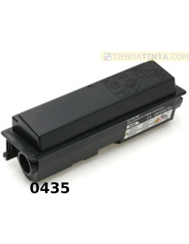 Tóner compatible Epson 0435 Negro (8000 Pag) para AcuLaser M2000