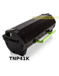 Tóner compatible Konica Minolta TNP41K Negro (10000 Pag) para Bizhub 3320 y mas