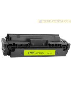 Tóner compatible HP 410X AMARILLO (5000 Pag) para M452 y mas