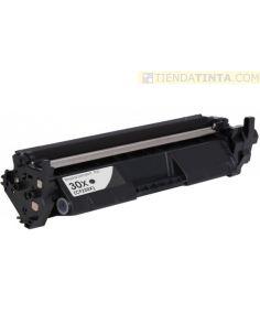 Tóner compatible HP 30X Negro (3500 Pag) para MFP M227 y mas