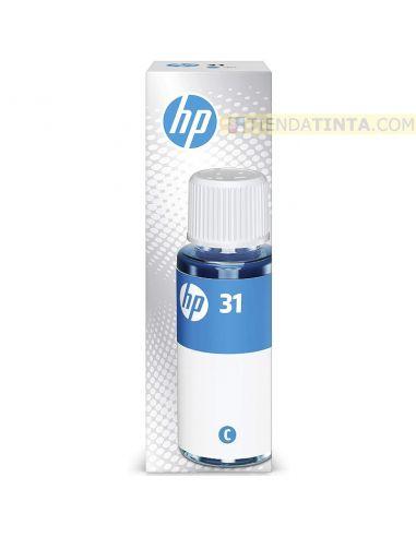 Tinta HP 31 Cian Botella 70ml