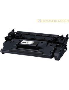 Tóner compatible HP 89X Negro (10000 Pag) sin chip para M528 y mas