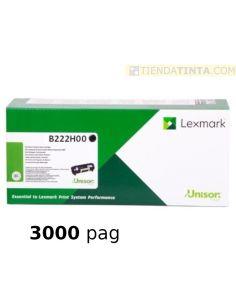 Tóner Lexmark B222H00 Negro (3000 Pag) para MB2236